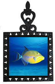Triggerfish Iron Trivet