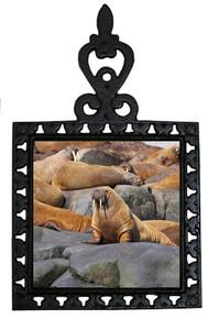Walrus Iron Trivet