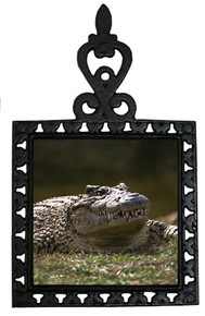 Alligator Iron Trivet