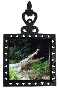 Crocodile Iron Trivet