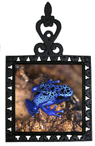 Blue Frog Iron Trivet