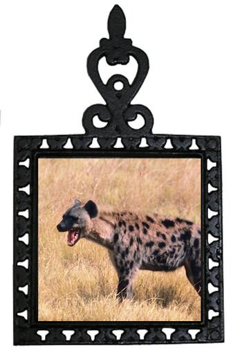 Hyena Iron Trivet