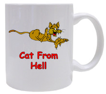 Cat From Hell: Mug