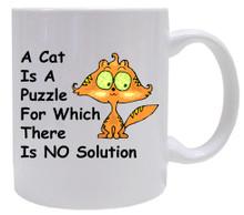 Cat Is A Puzzle: Mug