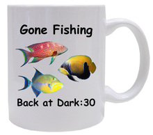 Gone Fishing: Mug