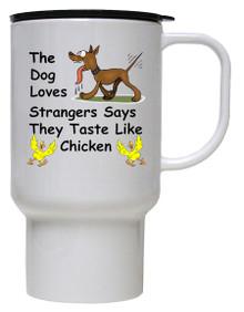 Tastes Like Chicken: Travel Mug