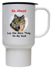 Lay One More Thing On My Desk: Travel Mug