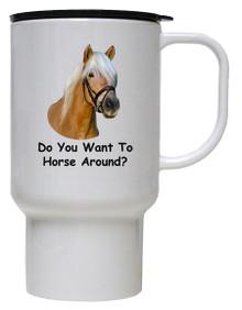 Horse Around: Travel Mug