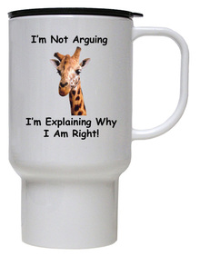 I Am Right: Travel Mug
