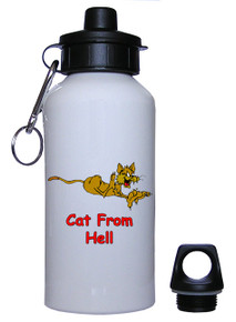 Cat From Hell: Water Bottle