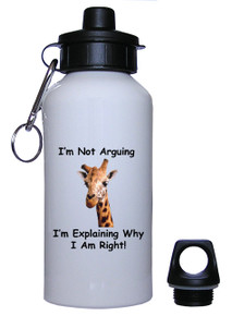 I Am Right: Water Bottle