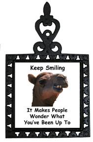 Keep Smiling: Trivet