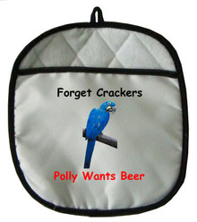 Polly Wants Beer: Pot Holder