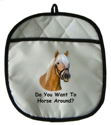 Horse Around: Pot Holder