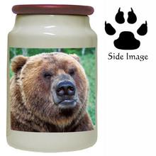 Bear Canister Jar
