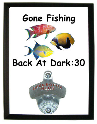 Gone Fishing: Bottle Opener