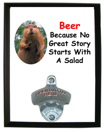 No Salad: Bottle Opener