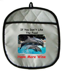 More Wine: Pot Holder