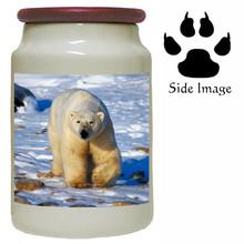Polar Bear Canister Jar