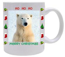 Polar Bear  Christmas Mug