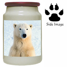Polar Bear Canister Jar