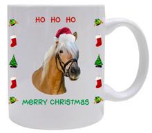 Haflinger Christmas Mug