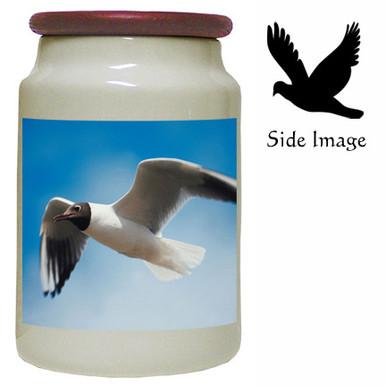Black Headed Gull Canister Jar