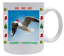 Black Headed Gull  Christmas Mug