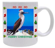 Blue Footed Booby  Christmas Mug