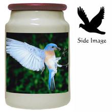 Bluebird Canister Jar