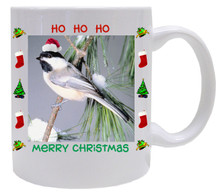 Chickadee  Christmas Mug