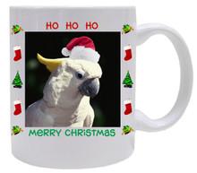 Cockatoo  Christmas Mug