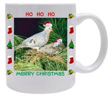 Dove  Christmas Mug