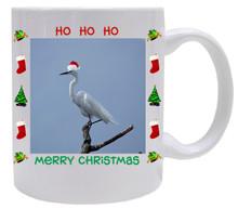 Egret  Christmas Mug