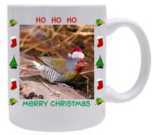 Finch  Christmas Mug