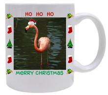 Flamingo  Christmas Mug