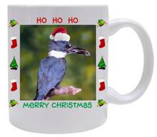 Belted Kingfisher  Christmas Mug