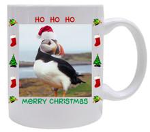 Atlantic Puffin  Christmas Mug