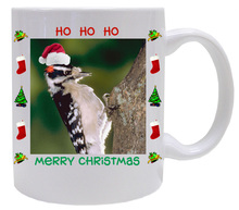 Downey Woodpecker  Christmas Mug