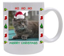 Cat Christmas Coffee Mug