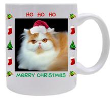 Persian Cat Christmas Coffee Mug