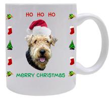 Airdale Christmas Mug