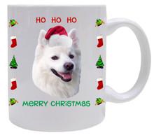 American Eskimo Dog Christmas Mug