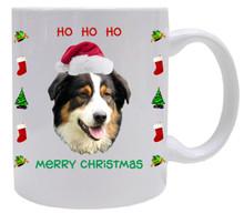 Australian Shepherd Christmas Mug