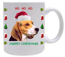 Beagle Christmas Mug