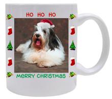 Bearded Collie Christmas Mug