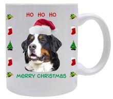 Bernese Mountain Dog Christmas Mug