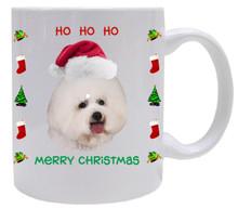 Bichon Christmas Mug