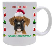 Boxer Christmas Mug