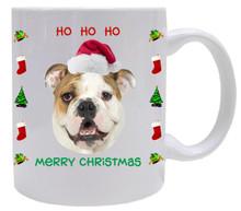 Bulldog Christmas Mug